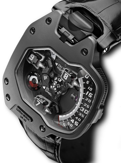 "Urwerk ""revolving satellite complication"""