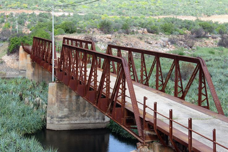 Old Steel Bridge near Clanwilliam