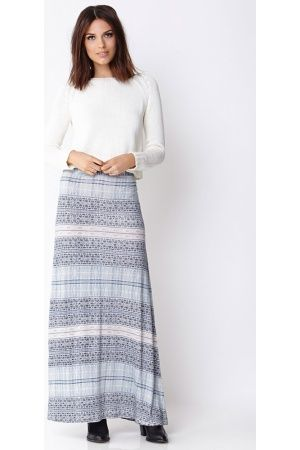 Dames - Love21 Maxi rok met Tribal print