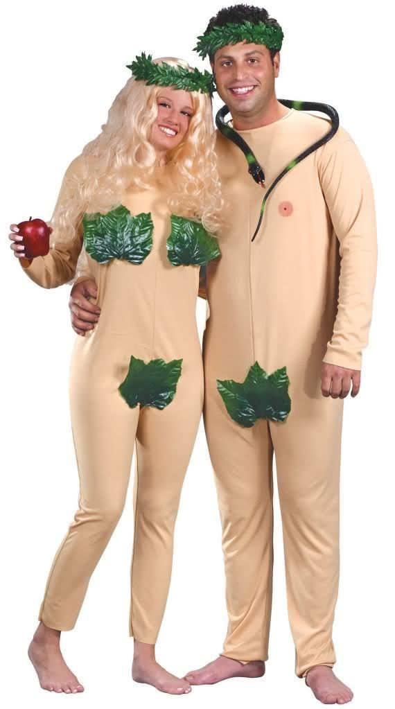 Halloween Costumes Couples: Adam And Eve Halloween Costumes Adult Men Women Couples Funny Naked Fig Leaf M -> BUY IT NOW ONLY: $17.99 on eBay!