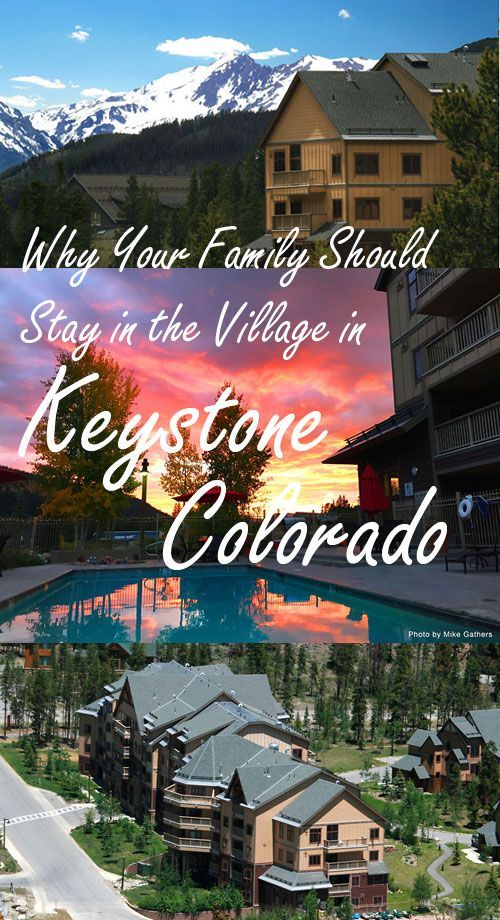 Why your family should book their Colorado ski vacation at River Run Village Condominiums, Keystone.