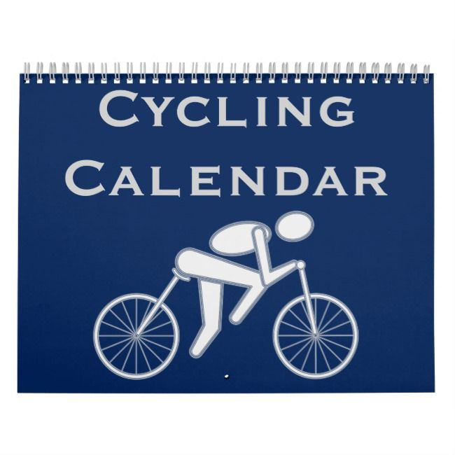 2021 Cycling Cyclist Bicycle Calendar | Zazzle.| Calendar