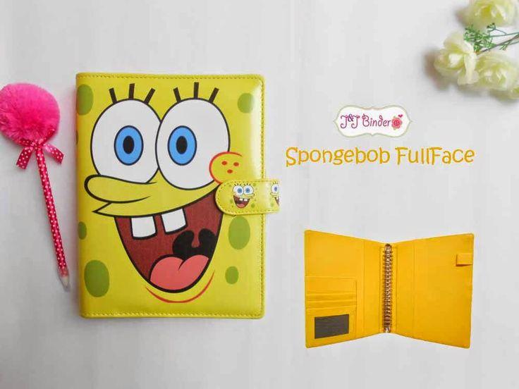 Nama  Produk : Binder Spongebob FC Ukuran   :A5 20ring : 55rb, B5 26 ring : 65rb Bahan  :Kain Satin Deskripsi : 3 slot kartu, 1 slot foto 1 Slot pulpen
