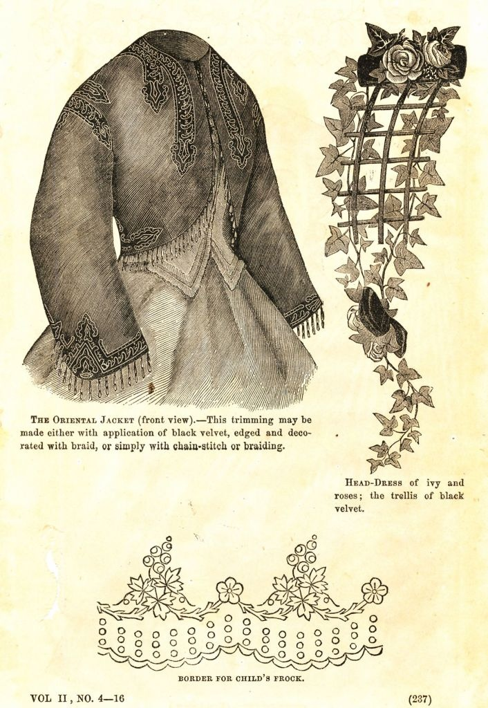what-i-found: Civil War Fashions - Engravings from 1864 Ladies Friend Magazine