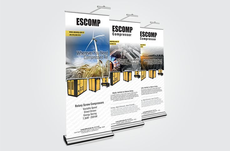ESCOMP KOMPRESÖR için yaptığımız Roll-up Tasarımı #WebTasarım #Kreatif #ReklamAjansı #İstanbul #Seo #Tasarım #Markalaşma #Ajans #Agency #Creative  #Maslak #AnadoluYakası #Adwords #KurumsalKimlik #KatalogTasarımı #AfişTasarımı #PosterTasarımı #TanıtımFilmi  #ReklamÇekimi #SosyalMedya #Design #Hosting #Marketing #GraphicDesign #WebsiteDesign #DigitalMarketing #WebsiteDevelopment  #Branding #SocialMedia #Responsive #WebDesign #CorporateWebDesign