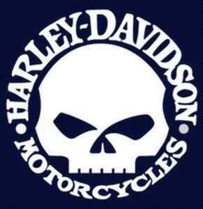 Harley Davidson skull vinyl window sticker decal 5 on eBay!
