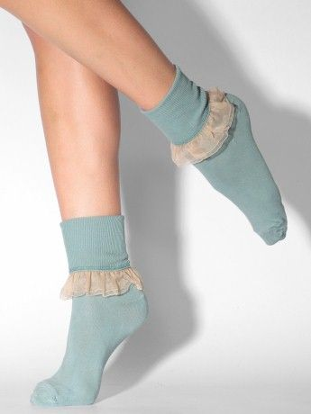 American Apparel Girly Lace Ankle SockApparel ガーリー, Apparel Girly, American Apparel, Fashion Accessories, Cute Socks, Delicate Lace, Ankle Socks, Girly Lace, Socks Trim