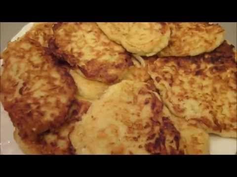 Оладьи из кабачков (идеальный рецепт!) - YouTube