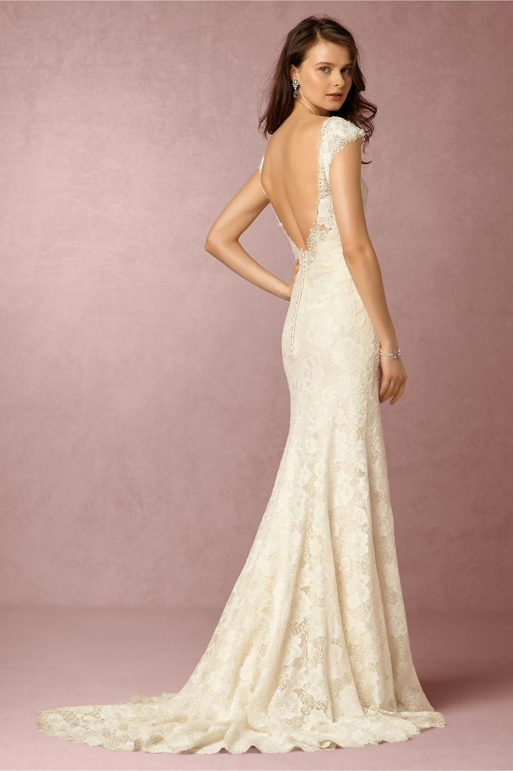 BHLDN Amalia Gown in  Bride Wedding Dresses Lace at BHLDN