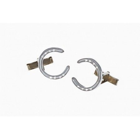 Sterling Silver Horseshoe Cufflinks - £43