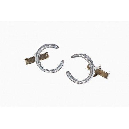 Sterling Silver Horseshoe Cufflinks - £43