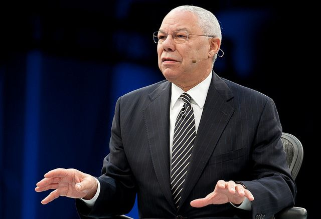 """Emails leaked by a hacker reveal that former Secretary of State Colin Powell considersDonald Trump """"A national disgrace and international pariah,""""and that he and his successor, Condoleezza Rice, agreed the years of investigation intothe Benghazi..."""