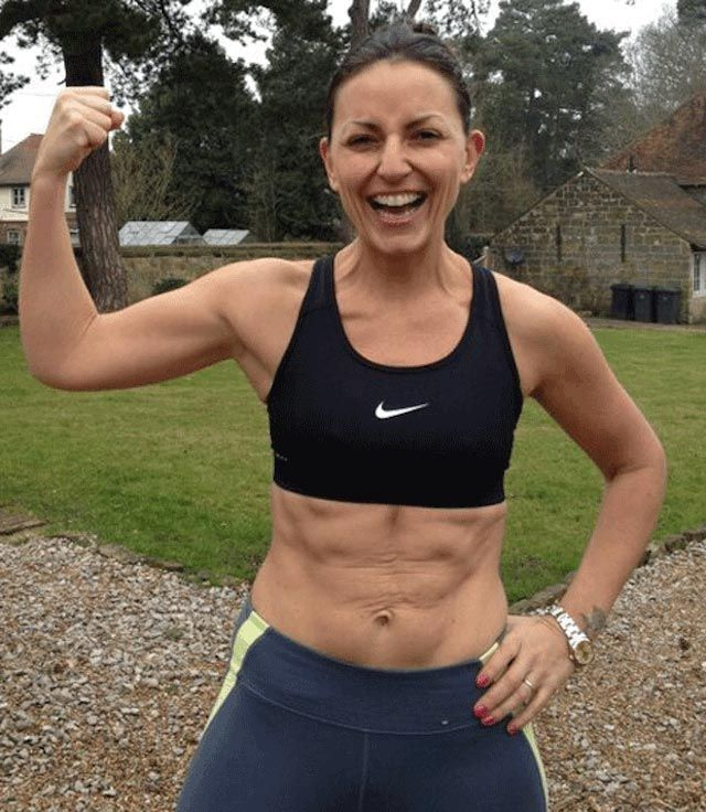 Davina McCall fitness....