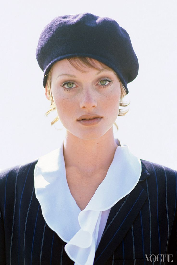 Amber Valletta, Photographed by Arthur Elgort, Vogue, 1993