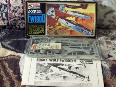 A Junkee Shoppe Junk Market Stop: FOCKE WULF Fw190D German Military Airplane Model Kit ... For Sale Click Link Here To View >>>> http://ajunkeeshoppe.blogspot.com/2015/12/focke-wulf-fw190d-german-military.html