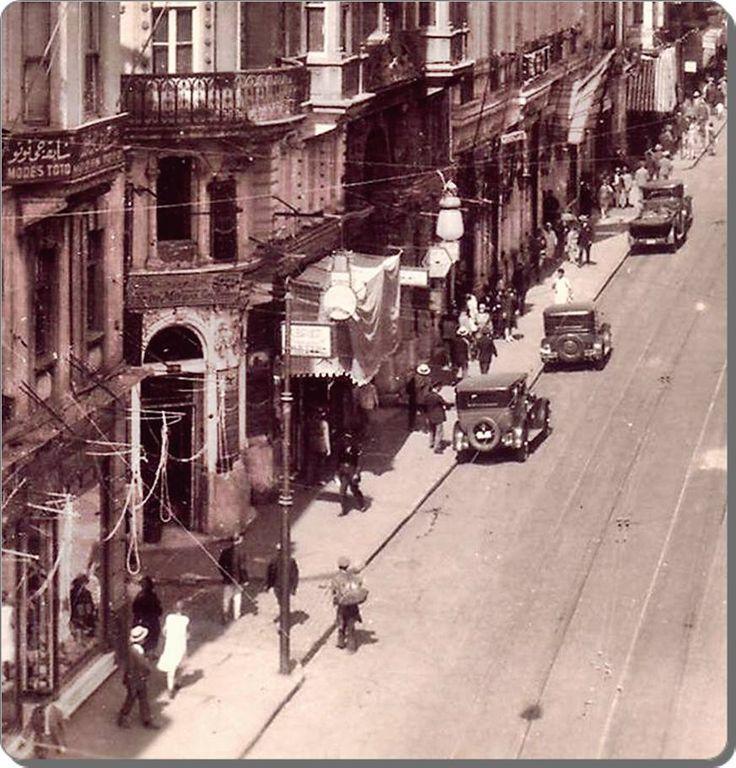 İstanbul _ İstiklal Caddesi - 1926