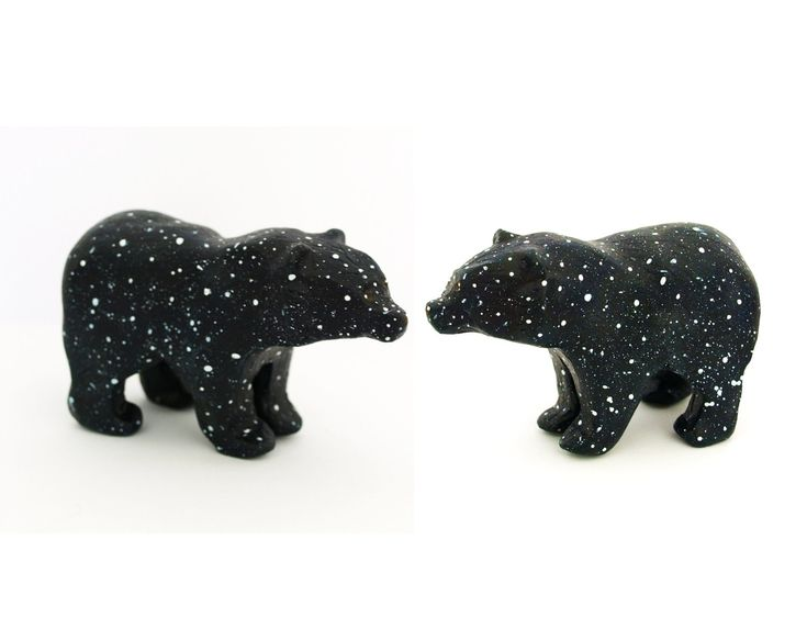 Wedding Cake Topper - Two Little Bear Constellation Sculptures. £40.00, via Etsy.