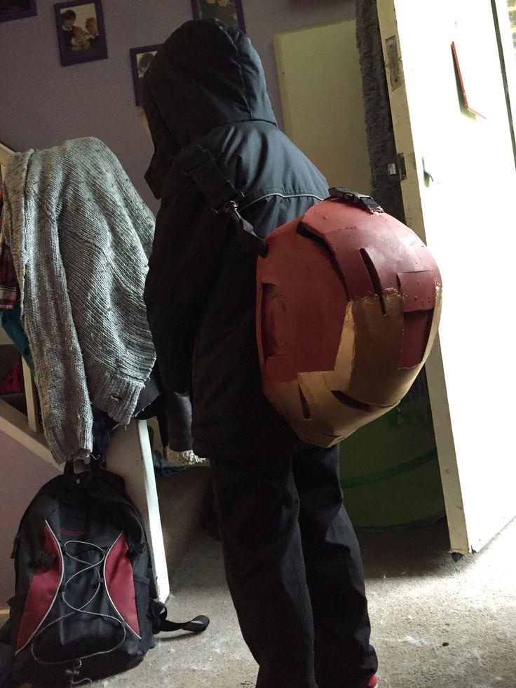 My boys school bag awesome