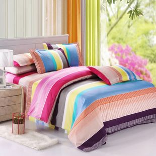 2015 NEW Hot!!!Free Shipping 82 Types Reactive Printing BEDDING 4PCS Bedding Set pillowcase queen king size QUILT COVER BED SET