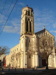 La Iglesia Santiago Apostol, hito fundacional del barrio de Belgrano, Buenos Aires