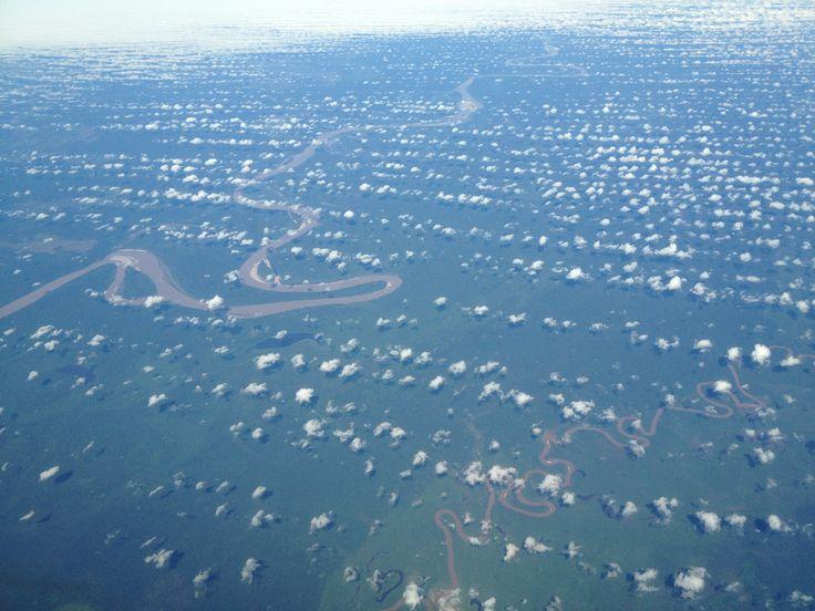 Nice weather over the Amazone