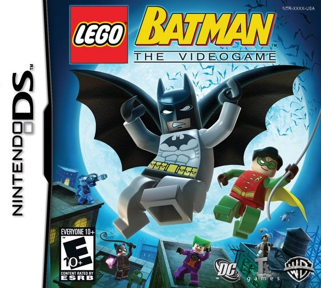 Lego Batman The Videogame DS Game