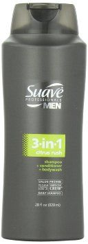Suave Professionals mens, shampoo/conditioner/body wash, 3 in 1, citrus rush, 28oz. You can donate this item to our House by setting the shipping address as 350 Erkenbrecher Avenue, Cincinnati, OH 45229. Do what you always do and benefit our House! Create an AmazonSmile account here http://smile.amazon.com/ and every time you buy something, our House will receive a portion of the cost of the item!