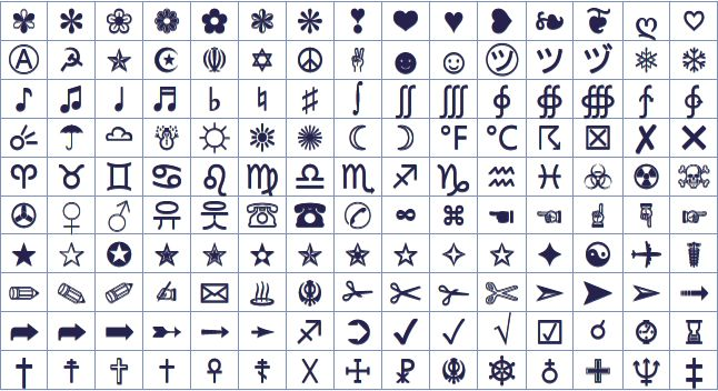17 best images about emoticons list for facebook on for Ascii decoration