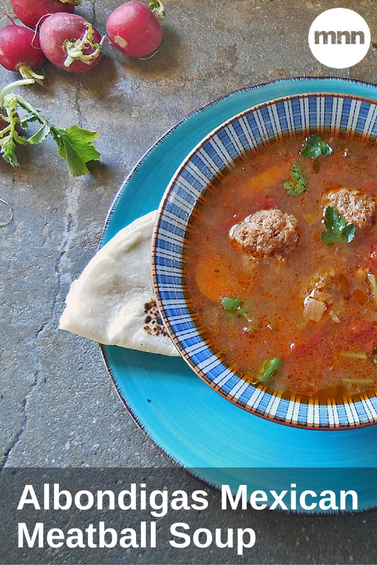 Albondigas Mexican Meatball Soup: For a lighter soup, replace the ...