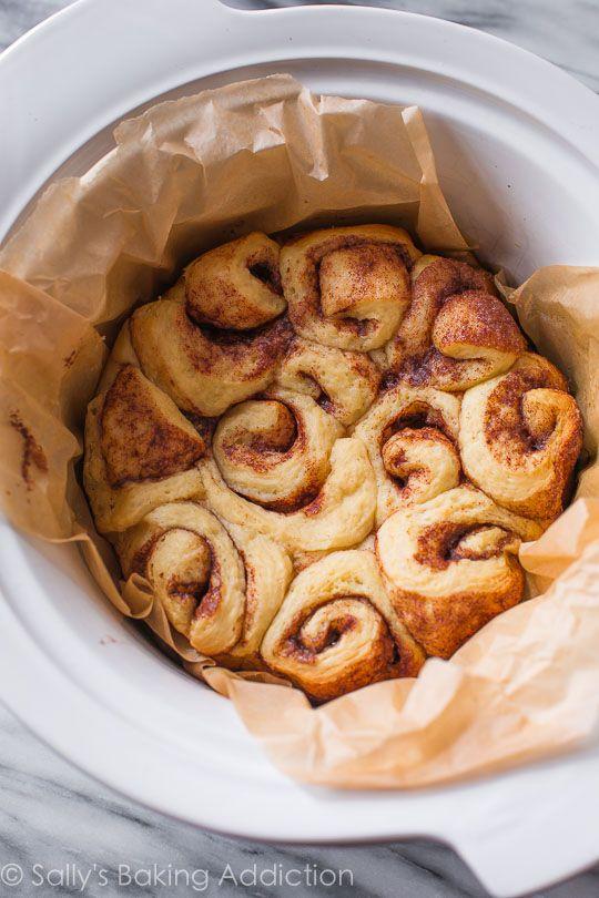easy slow cooker cinnamon rolls rv tips bath bomb roll on sallys ...