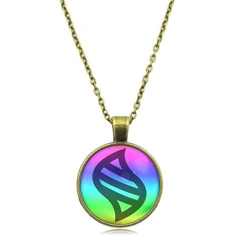 Pokemon Glass Dome Necklace - Mega Stone - AnimeBling - 7