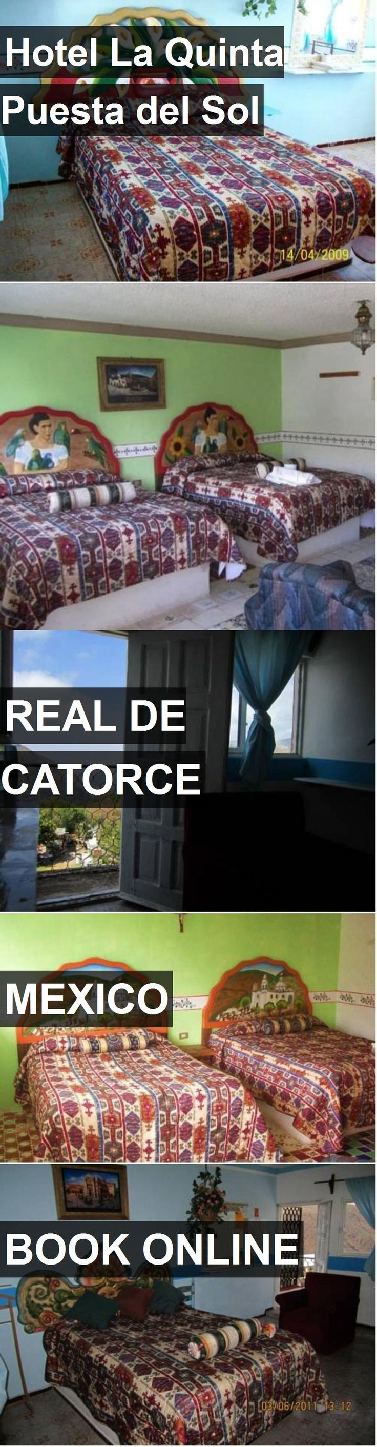 Hotel La Quinta Puesta del Sol in Real de Catorce, Mexico. For more information, photos, reviews and best prices please follow the link. #Mexico #RealdeCatorce #travel #vacation #hotel