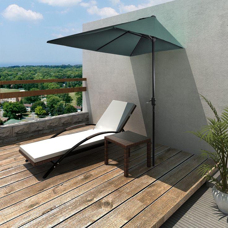 die besten 25+ sonnenschirm balkon ideen auf pinterest, Gartengerate ideen