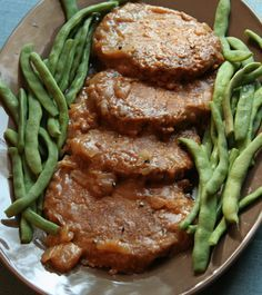 My Vegan Cookbook -Salisbury Steak. This looks amazing and much more than just gluten - includes lentils, oats, brown rice, flax seed. Yummm