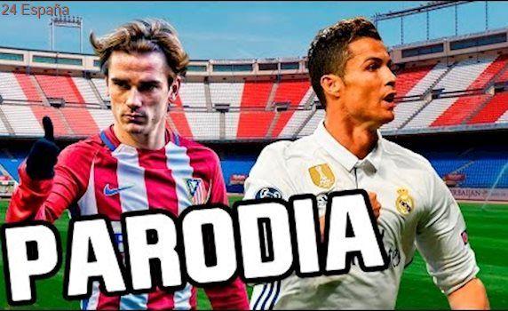Canción Atletico Madrid vs Real Madrid 2-1 (Parodia Wisin - Escápate Conmigo ft. Ozuna) 2017