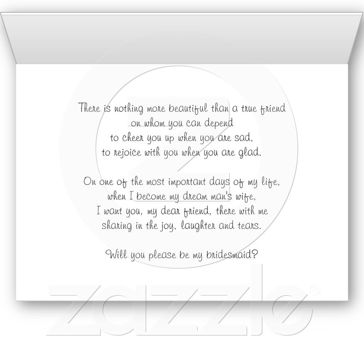 30 best invites images on bridesmaid poems bridesmaid