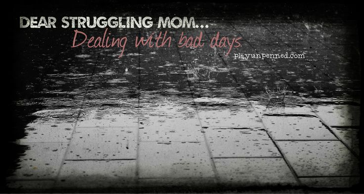 Repeat after me: Breathe. This moment will pass. Advice for getting through bad days as a parent