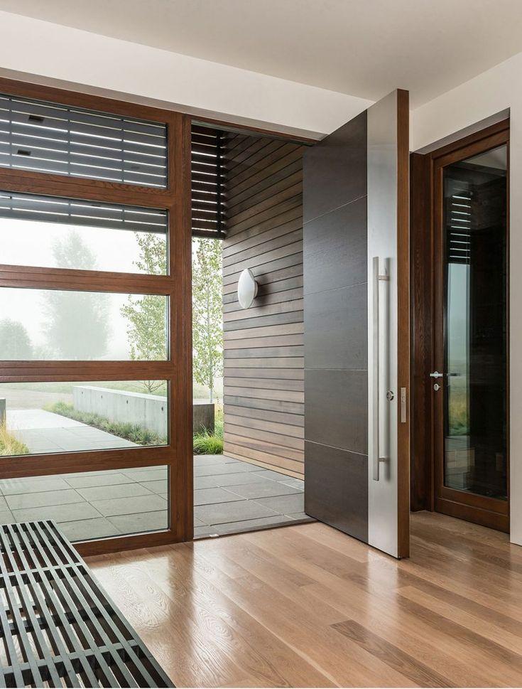 1000 ideas about pivot doors on pinterest white. Black Bedroom Furniture Sets. Home Design Ideas