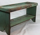 Antique Bucket bench