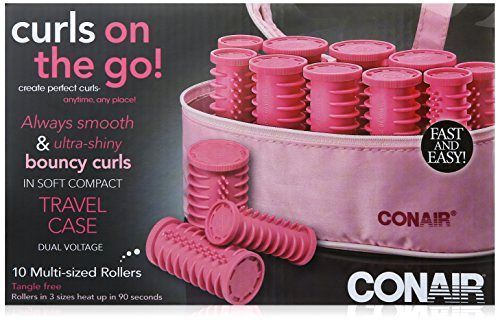 Conair Instant Heat Compact Hot Rollers Hair Curler Set Beauty Care Women  - $18.27 - 18.27