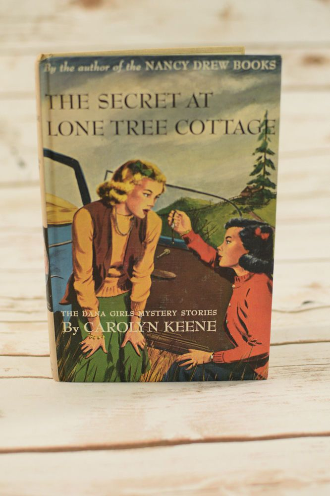 #TheDanaGirls #2 The Secret at Lone Tree Cottage by Carolyn Keene PC #Book