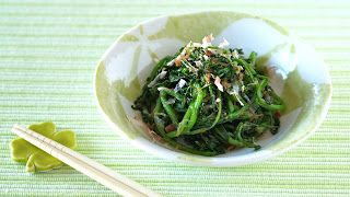 Create Eat Happy :) Kawaii Japanese Recipes and Cooking Hacks: How to Make Wasabi Marinated Watercress  - Video R...