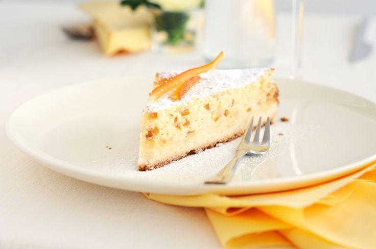 Aprenda como fazer uma deliciosa torta de ricota doce sem lactose!