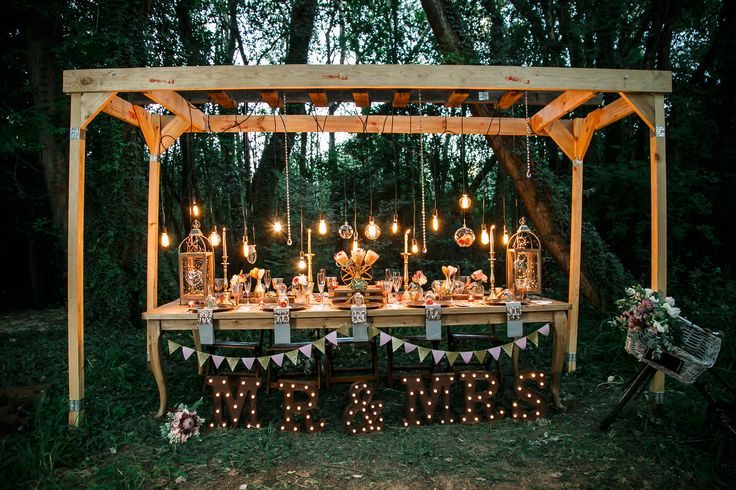 Into The Woods- Forest Wedding