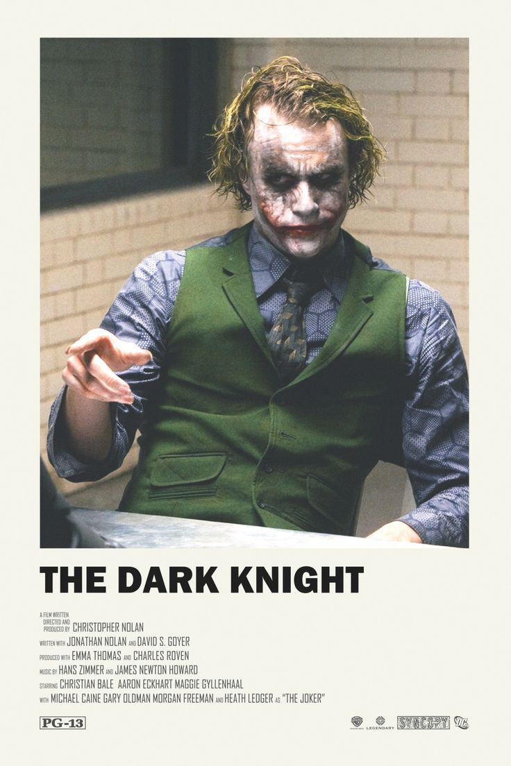The Dark Knight alternative movie poster