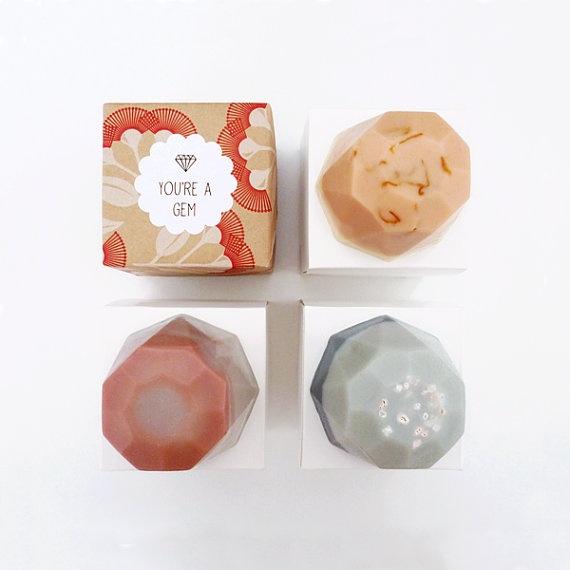 Jewel Soap  You're A Gem by viceandvelvet