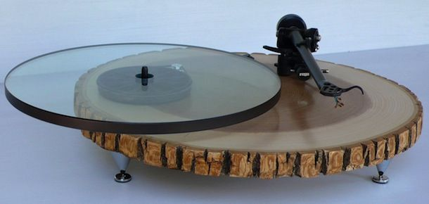 Audiowood Turntable