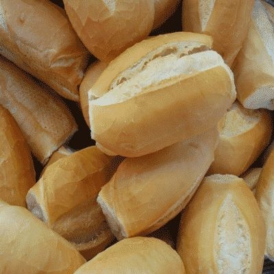 Pao Frances, Brazilian Bread...bought every day fresh from the bakery! I miss it so much<3