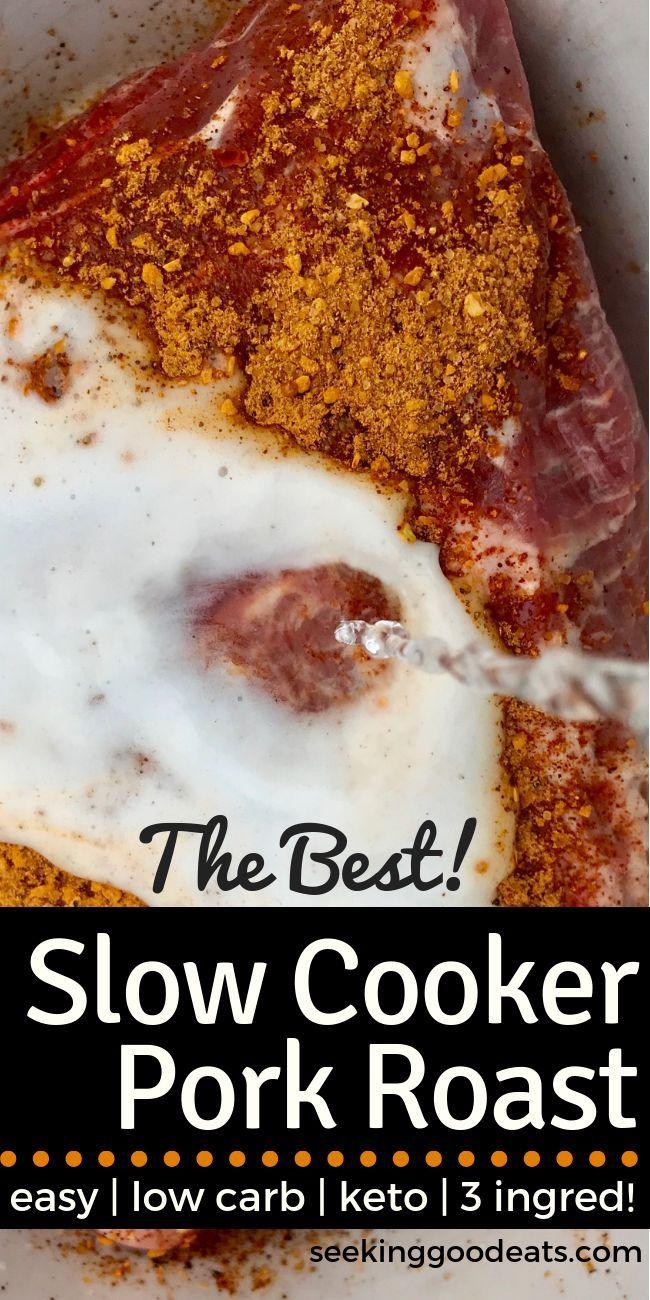 crock pot pork roast keto