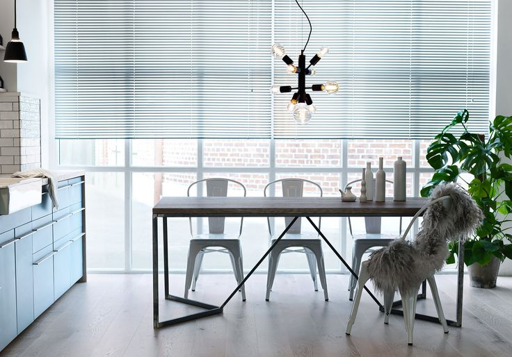 Graphic dining table by Nevian Furniture. Scandinavian design furniture manufactured to perfection!